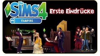 Die Sims 4: Vampire Gameplaypack - Erste Eindrücke [CAS, Vampirkräfte, Särge & more]