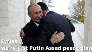 BREAKING: Putin Meets Assad in Sochi, Russia
