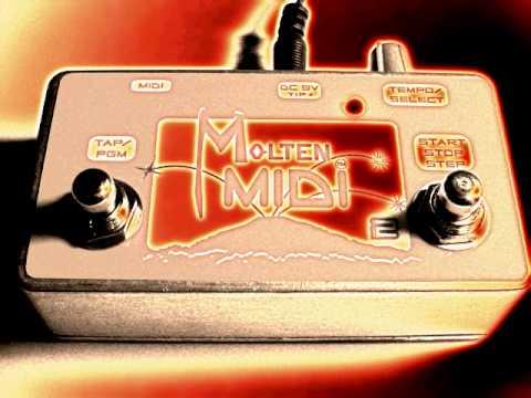 Molten MIDI 2 ~ Whammy 4 Programmable MIDI Stompbox  + MIDI Clock, Program, and Song Changes!