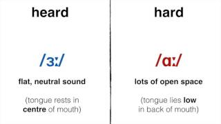 How To Pronounce 'Heard' vs. 'Hard' in Standard British English: Word Of The Day #29