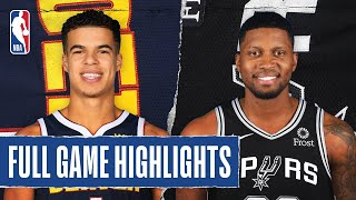 NUGGETS at SPURS | FULL GAME HIGHLIGHTS | August 5, 2020