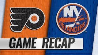 Balanced effort lifts Flyers past Islanders, 5-2