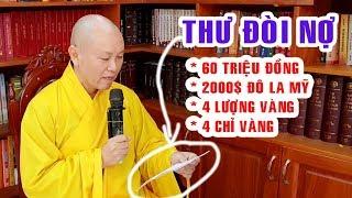TIN NÓNG Thầy Chân Tính vừa về chùa Hoằng Pháp đã bị ĐÒI NỢ hơn 100 triệu đồng.