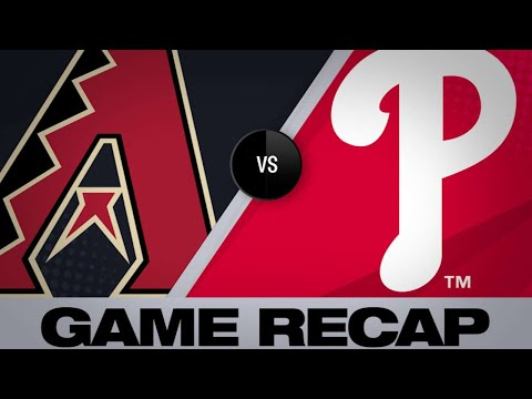 6/10/19: D-backs slug 8 homers in 13-8 win