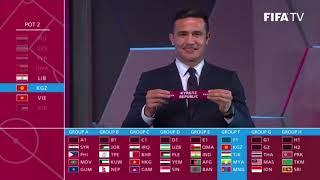 """Bốc thăm vòng loại World Cup 2022, Việt Nam gặp lại """"cố nhân"""""""