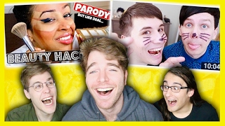 MAKING FUN OF YOUTUBER THUMBNAILS