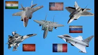 Top 10 Best Fighter Jets In The World Today 2019