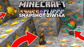 Minecraft Snapshot 21w14a NEW ORE ITEM?!