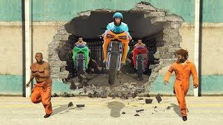 WORLD'S GREATEST PRISON ESCAPE RACE! - GTA 5 Funny Moments
