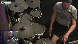 TheCyberPulse (5/20/18 Stream) | LITERALLY just practicing drums to some 8/16 bit tunes.