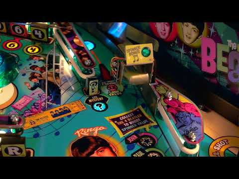 The Beatles Pinball: il trailer del nuovo flipper Stern