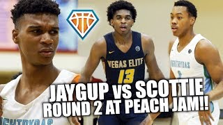 JAYGUP vs SCOTTIE BARNES & ZAY TODD!! | Peach Jam BRINGS OUT THE BEST From It's Stars