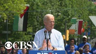 Joe Biden kicks off 2020 campaign with rally in Philadelphia