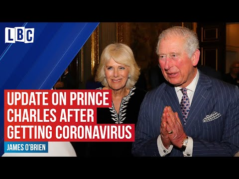 Royal correspondent gives update on Prince Charles after he tests positive for coronavirus | LBC