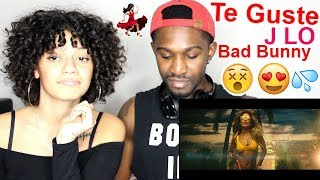 "Jennifer Lopez & Bad Bunny ""Te Guste"" Official Music Video REACTION!! Jaz & Alex"