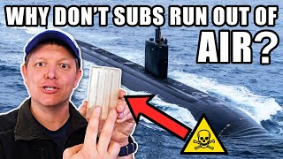 How Do Nuclear Submarines Make Oxygen?- Smarter Every Day 251