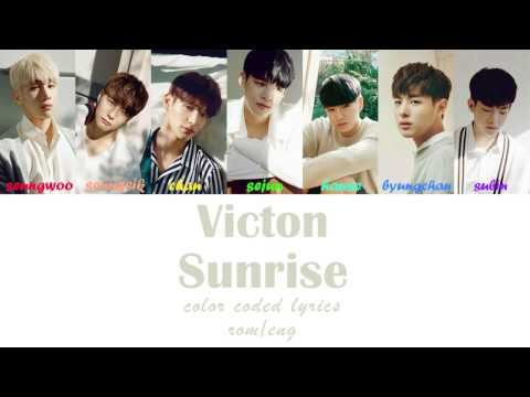 VICTON - SUNRISE (Color Coded Lyrics   Rom/Eng)