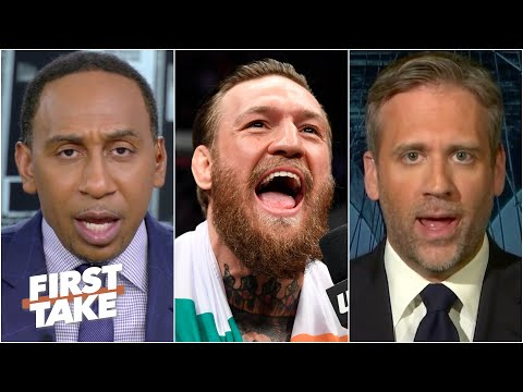 Stephen A. & Max react to Conor McGregor accepting bout vs. Dustin Poirier | First Take
