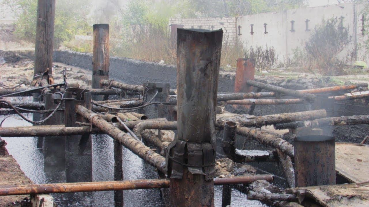 Волгоград: кустарный нефтезавод под окнами горожан