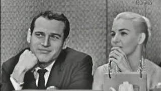 What's My Line? - Paul Newman & Joanne Woodward; Art Linkletter [panel] (Nov 8, 1959)