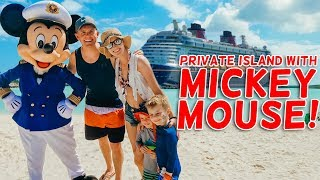 Our PRIVATE ISLAND With Mickey Mouse! | Ellie and Jared Disney Cruise 2019