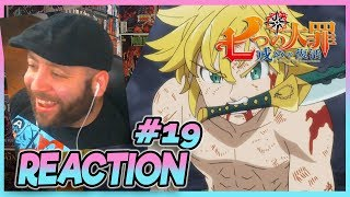 SEVEN DEADLY SINS REVIVAL OF THE TEN COMMANDMENTS Episode 19 REACTION
