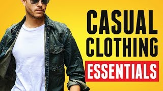 10 Casual Cold Weather Wardrobe Essentials (No Suits!) Men's Clothing YOU Need | RMRS Style Videos