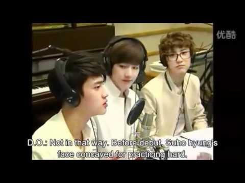 EXO D.O 's  'jeongmal' overuse.wmv