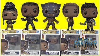 Marvel Studios' BLACK PANTHER Movie Funko Pop Full Set + Avengers Infinity War