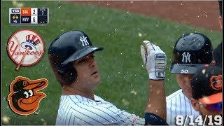 New York Yankees Highlights: vs Baltimore Orioles | 8/14/19