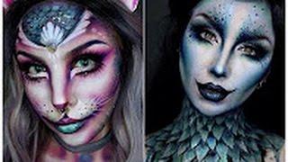 Top 15 Easy Halloween Makeup Tutorials Compilation 2016 #2