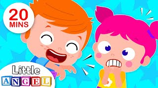 When I'm Silly, Funny Sounds Song, Ants in my Pants, Humpty Dumpty | Kids Songs by Little Angel