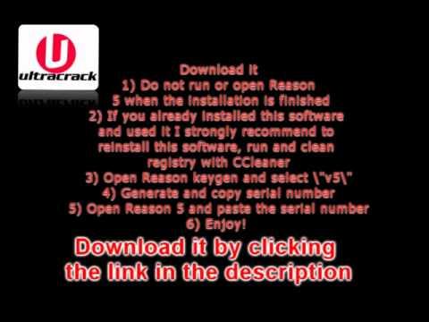 reason 5 serial key