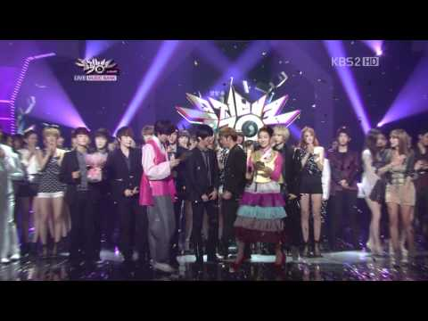 HD 110909 Super Junior - Mr. Simple 第五周第十一Winner @ MUSIC BANK [繁體字幕]