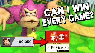 From low GSP to Elite Smash with Donkey Kong