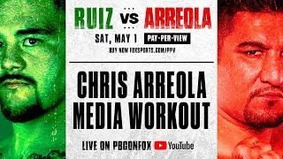CHRIS ARREOLA MEDIA WORKOUT  🥊 | PBC ON FOX