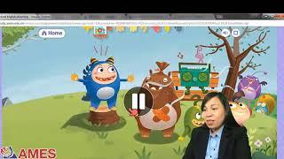 Huong dan hoc tieng Anh cung con AMES Smart Star English