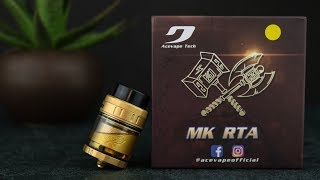 MK RTA by Acevape | Review | Build & Wick