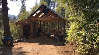 The Timber Frame and Steel Dream Workshop + Our Mountain Dream Home Story (Shop Build #11)