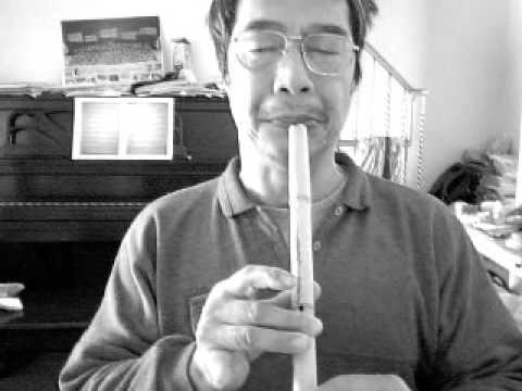 Playing Bamboo Danso - HITA 御歌行《逍遙嘆》 in G