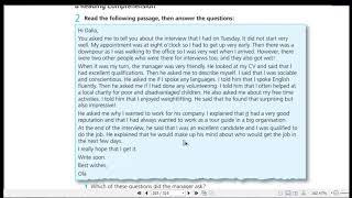 اجابات Work Book Practice Test 4 A للثالث الثانوي