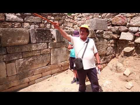Αρχαία Στάγειρα - Ολυμπιάδα. Γνωριμία με τη γενέτειρα του Αριστοτέλη