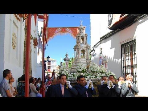 Corpus Christi en Carmona 2.013 - Altares y flores