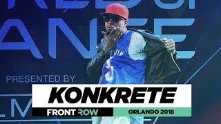 Konkrete | FrontRow | World of Dance Orlando 2018 | #WODFL18