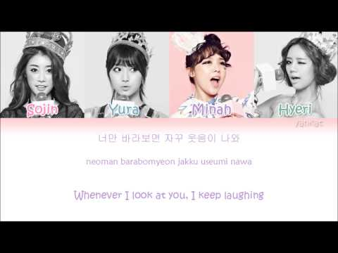 Girl's Day – Female President (여자 대통령) (Color Coded Han|Rom|Eng Lyrics)