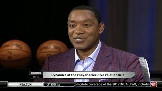 Isiah Thomas: In-depth analysis of top NBA Draft prospects and team needs | NBA TV Draft HQ