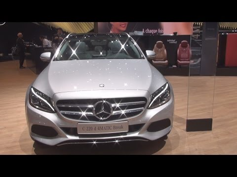 Mercedes-Benz C 220 d 4MATIC Break T-Model (2016) Exterior and Interior in 3D