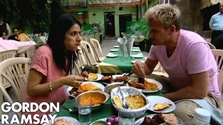 Real Indian food in Delhi - Gordon Ramsay