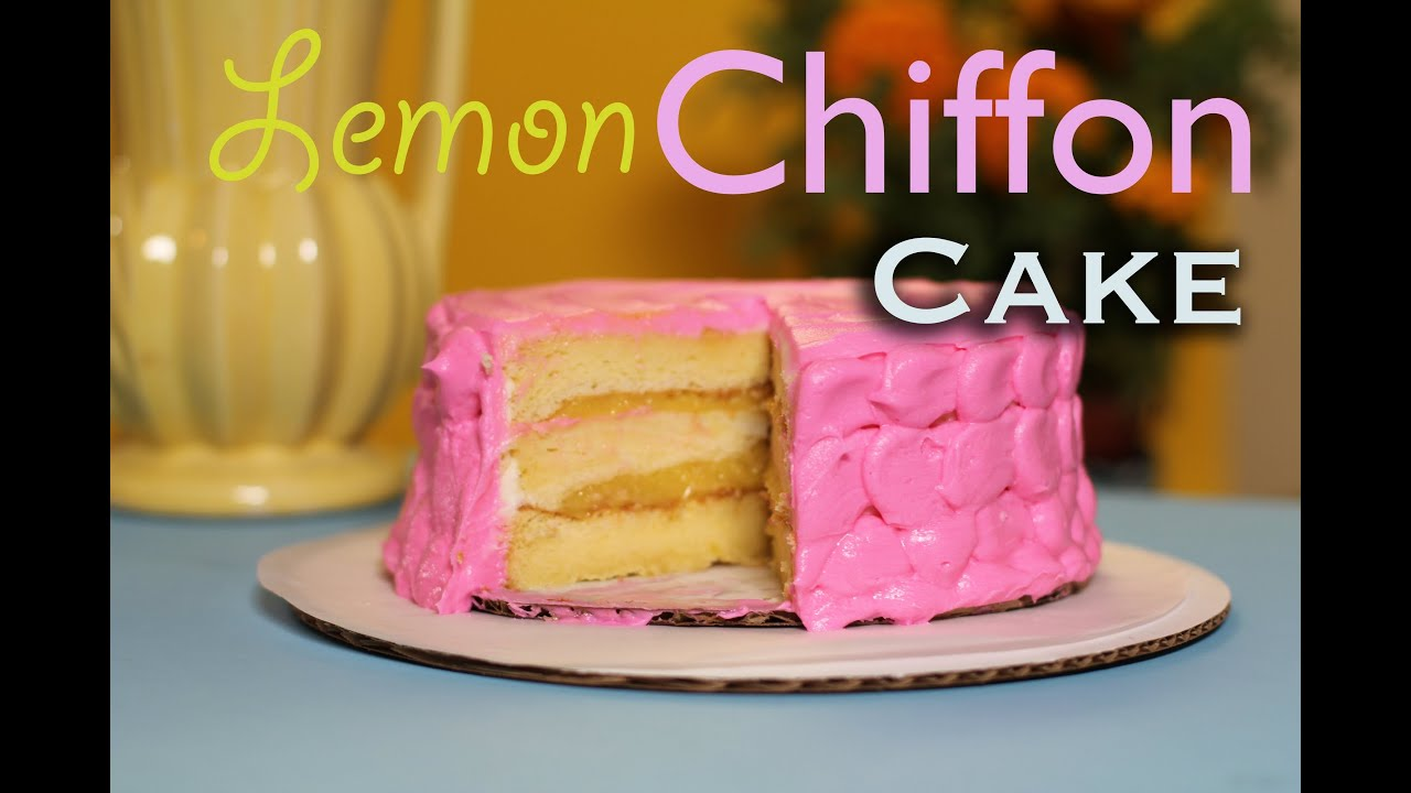 How To Make Chiffon Cake Baking With My Sub S Youtube