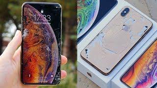 DROP TEST IPHONE XS MAX - 1700€!